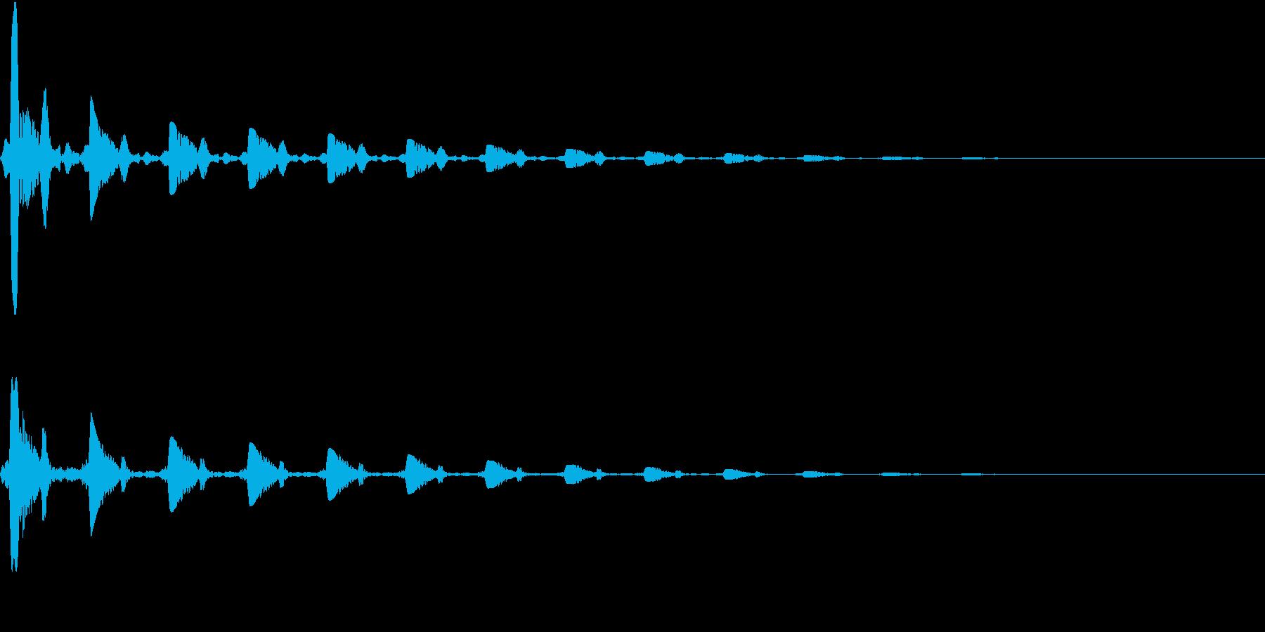 クォクォクォ・・・・・・・の再生済みの波形