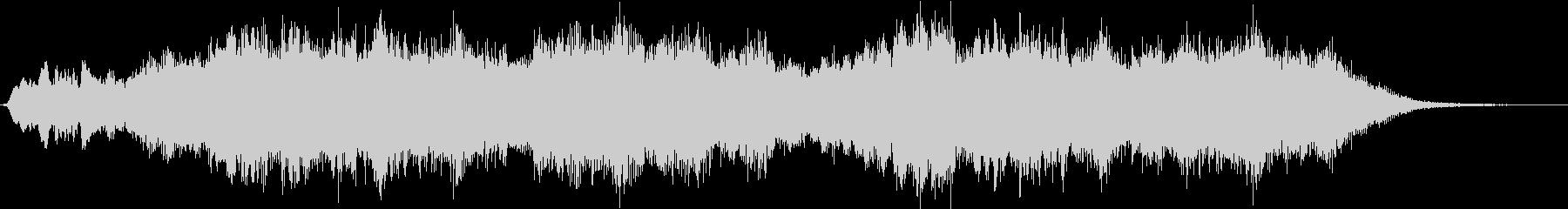 優しく穏やかな「ダニー・ボーイ」弦楽編曲の未再生の波形