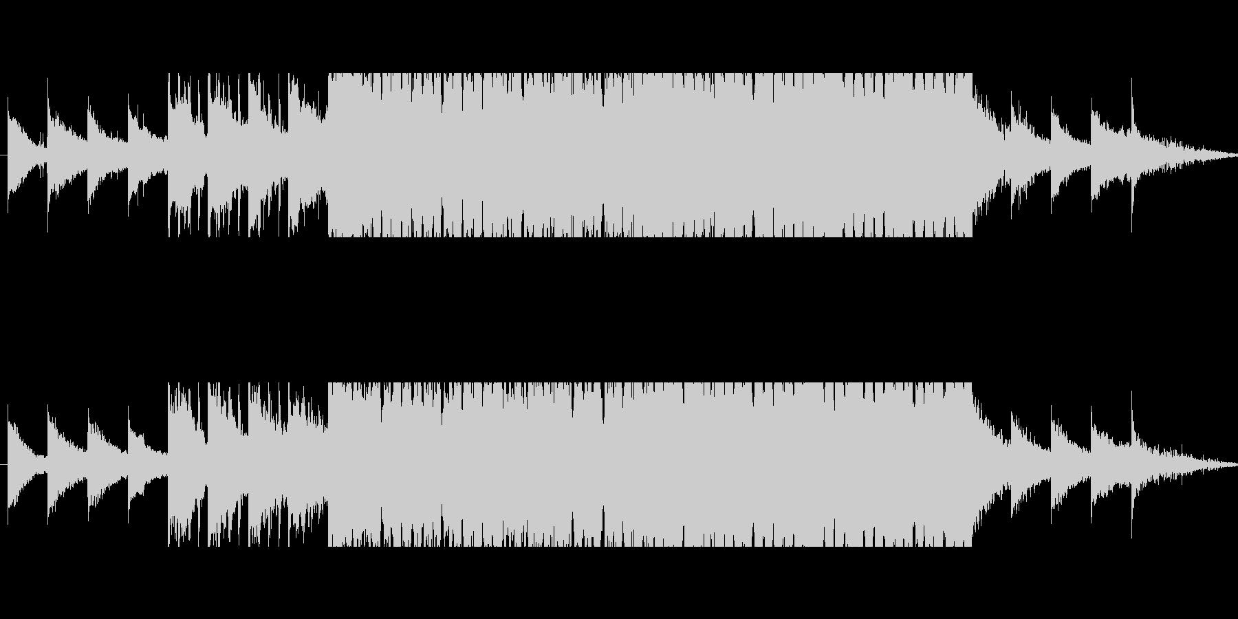 モチベーションを上げるハウス(短縮版)の未再生の波形