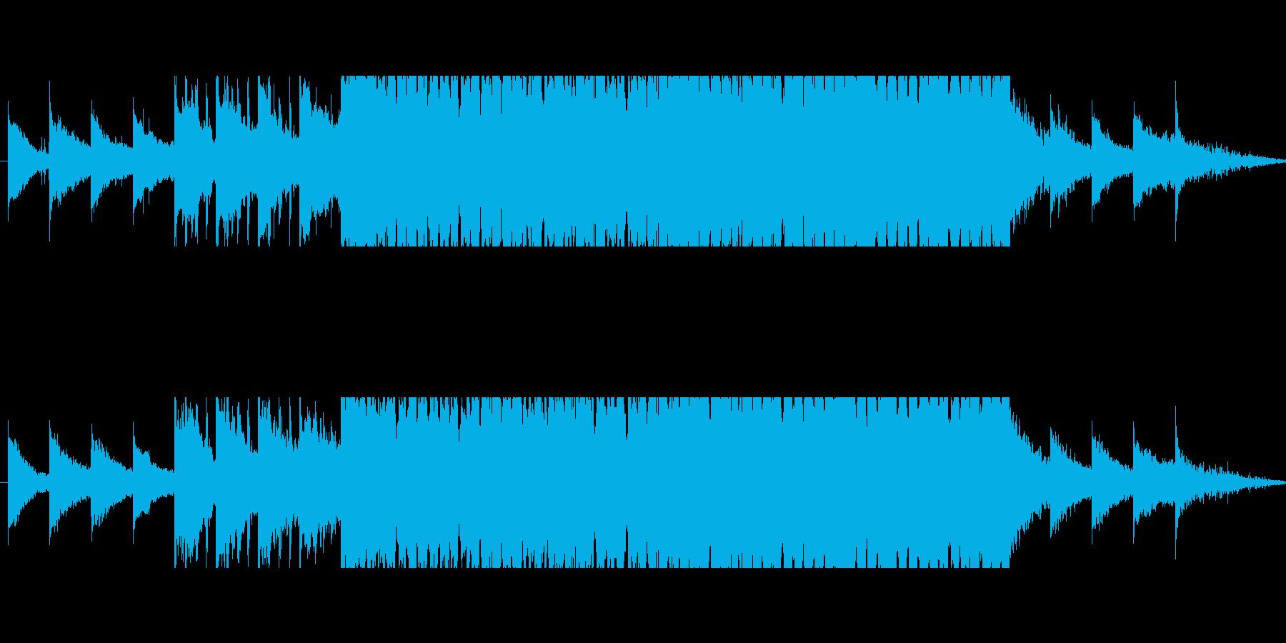 モチベーションを上げるハウス(短縮版)の再生済みの波形