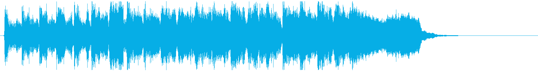 リコーダー&フルートの勝利ファンファーレの再生済みの波形