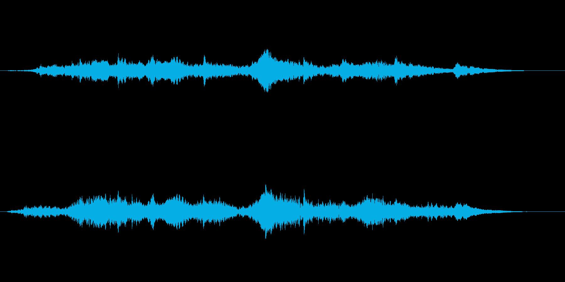 幻想的且つエキゾチックなアンビエントの再生済みの波形