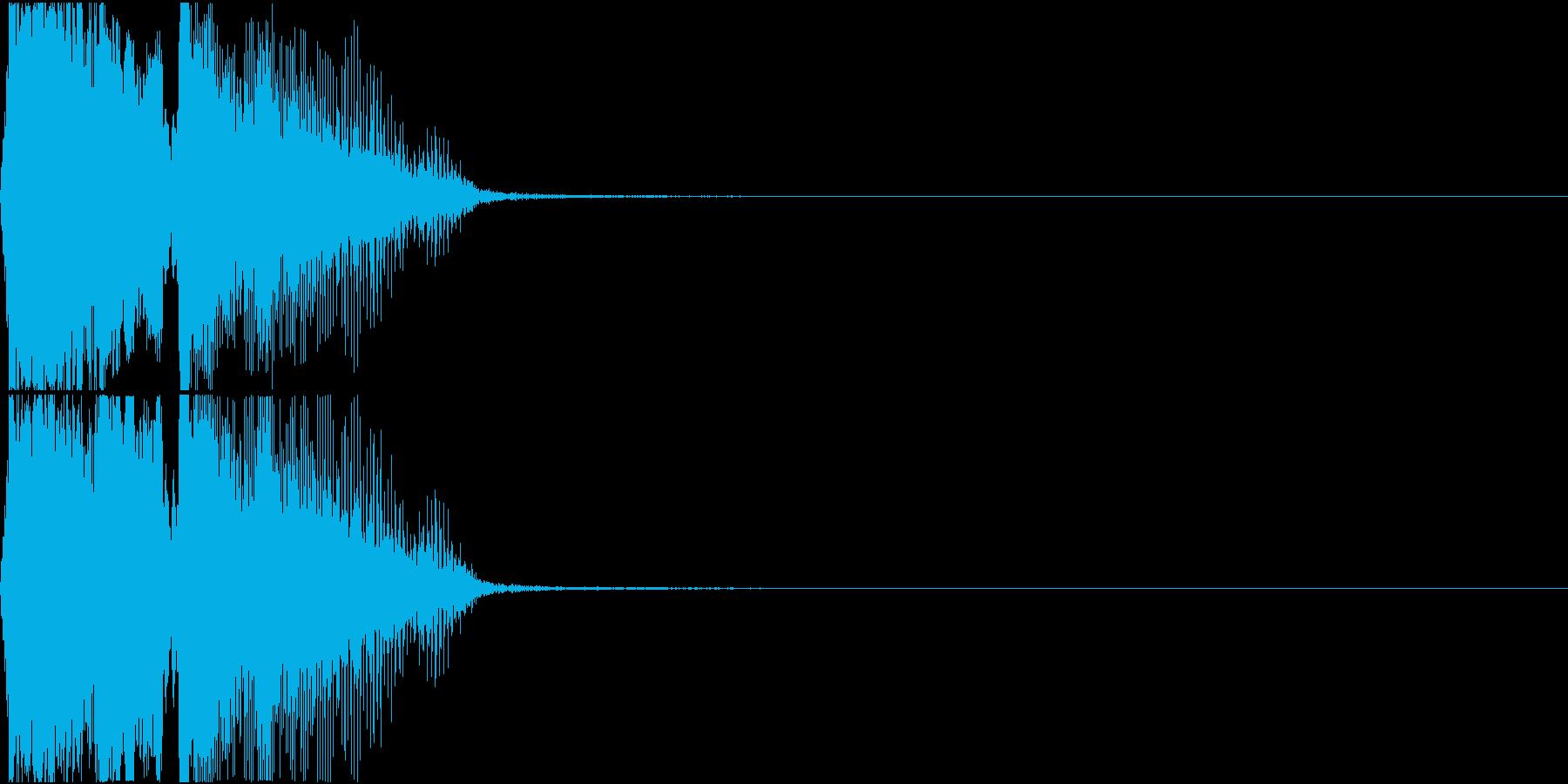 「ショータイム!」ゲーム・アプリ用の再生済みの波形