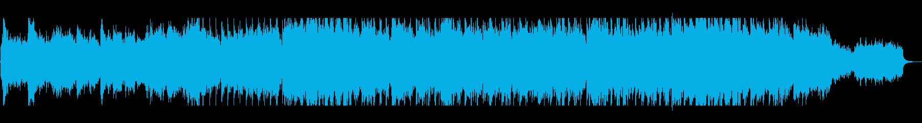 壮大で優雅なトランペット・ピアノサウンドの再生済みの波形