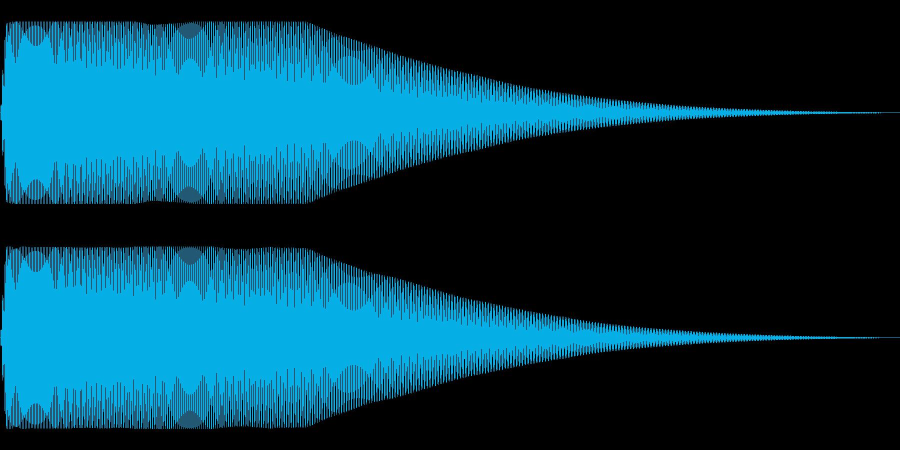 落下系 ドゥーンの再生済みの波形