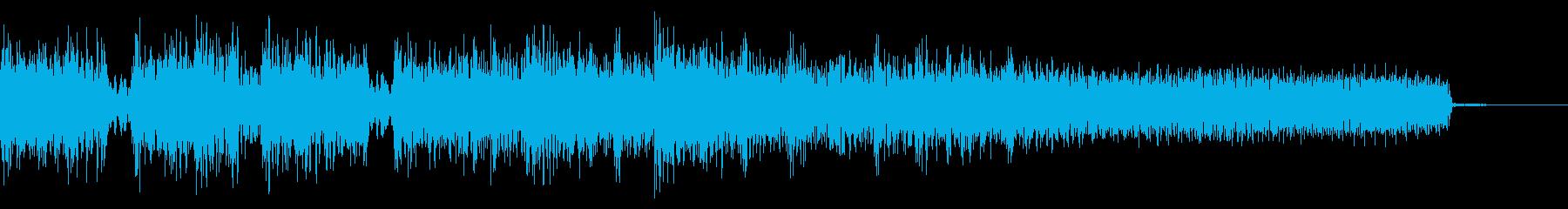 攻撃的なメタルなジングル 場面転換の再生済みの波形