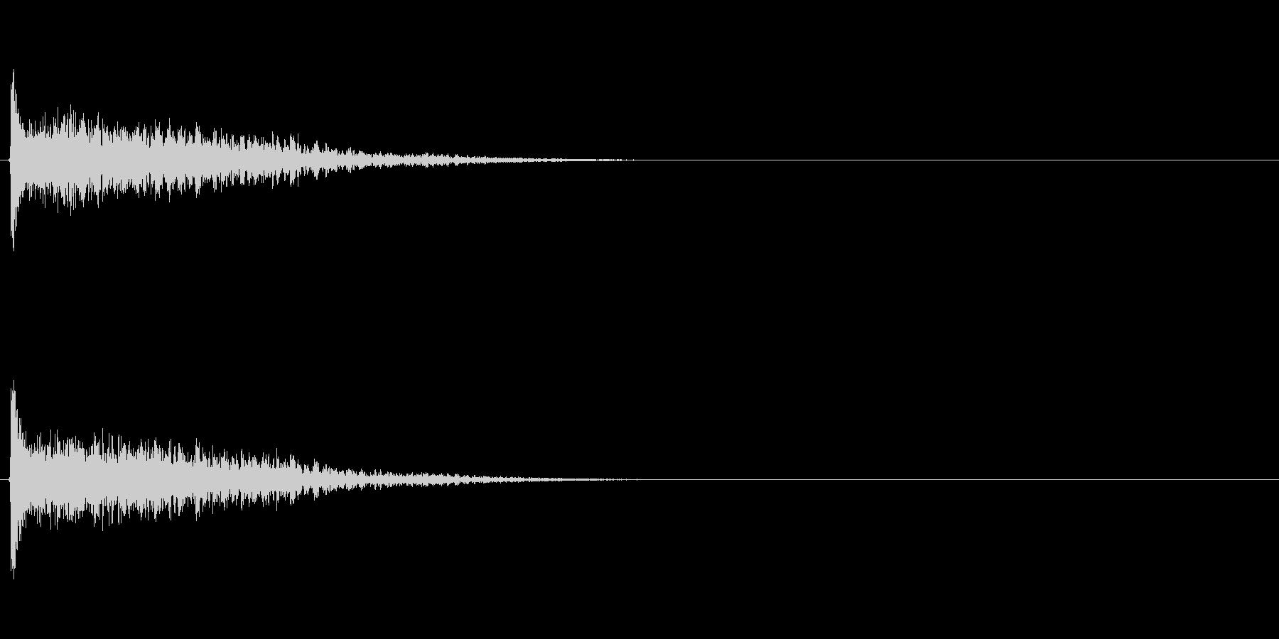 ホームランバット (カキーン)の未再生の波形