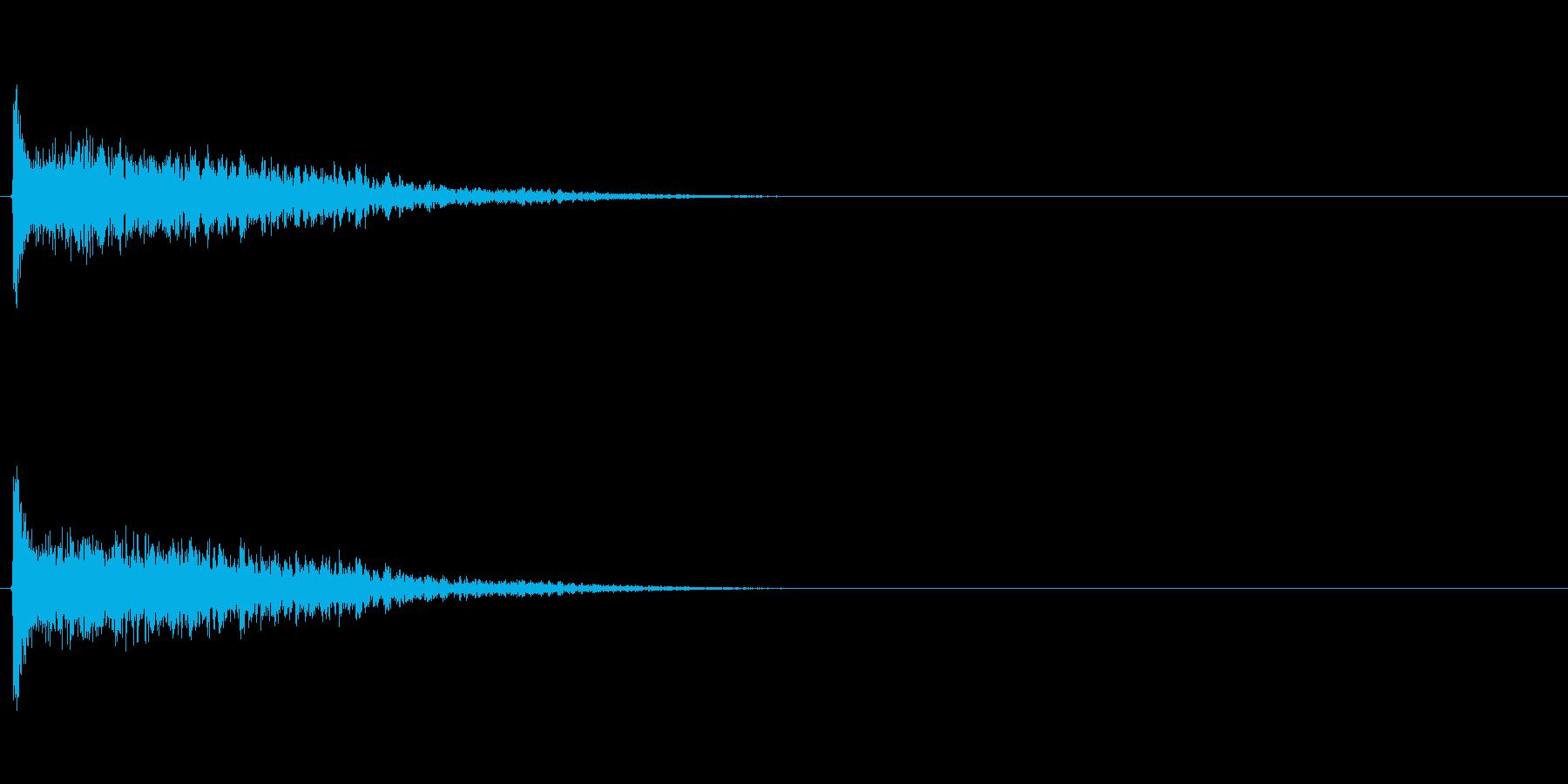 ホームランバット (カキーン)の再生済みの波形