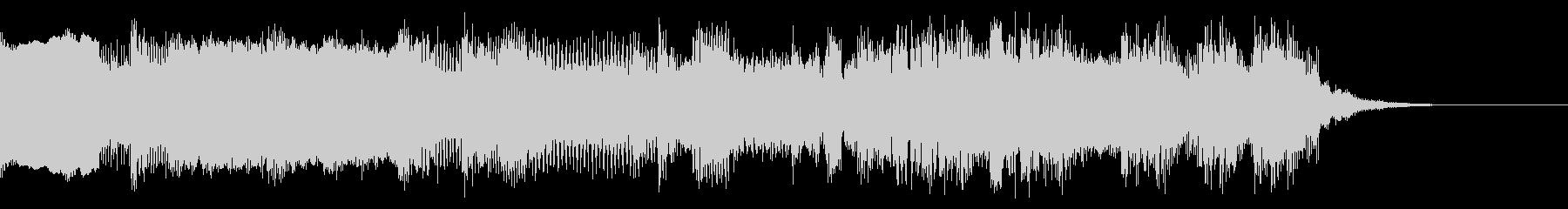 8bit エンディング系のジングルの未再生の波形