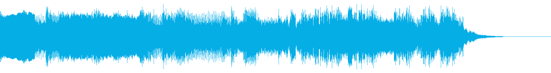 8bit エンディング系のジングルの再生済みの波形