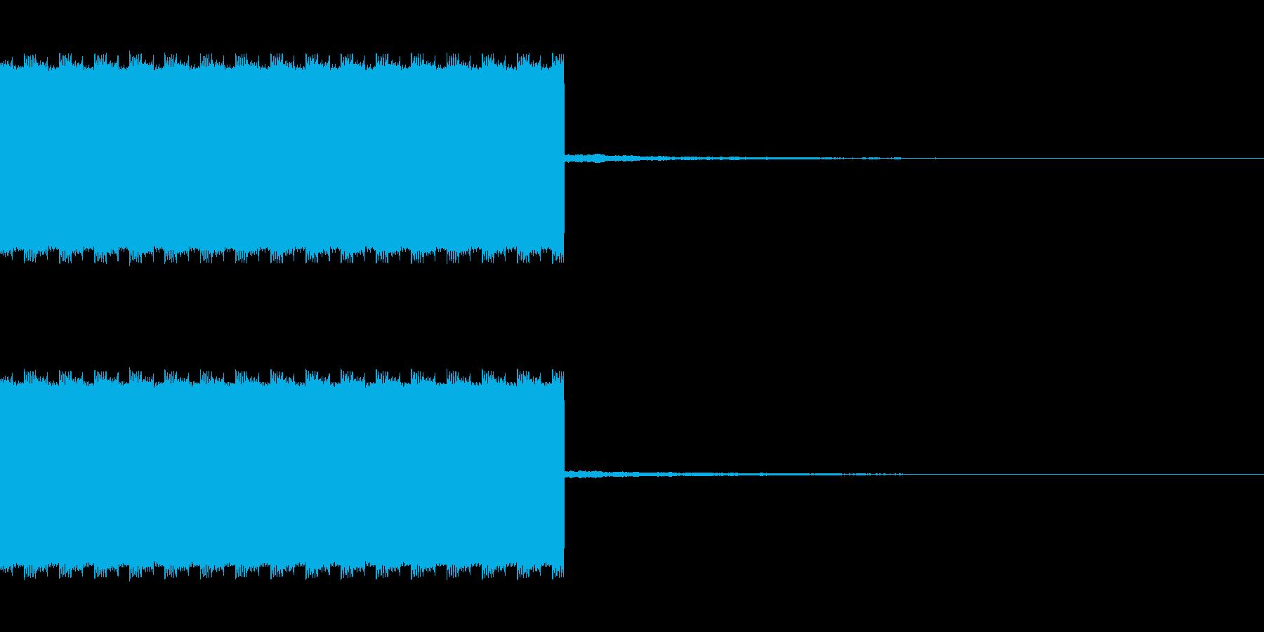 自主規制音2 ピロピロロングの再生済みの波形