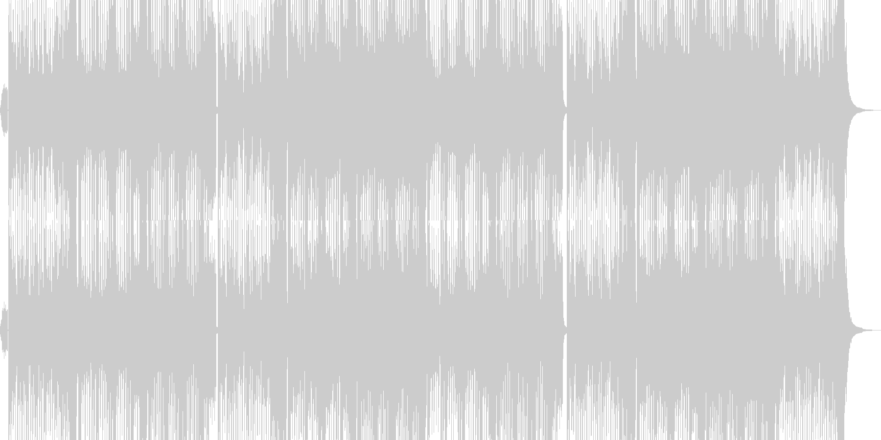 ダンス系EDM/イケメンoffvocalの未再生の波形