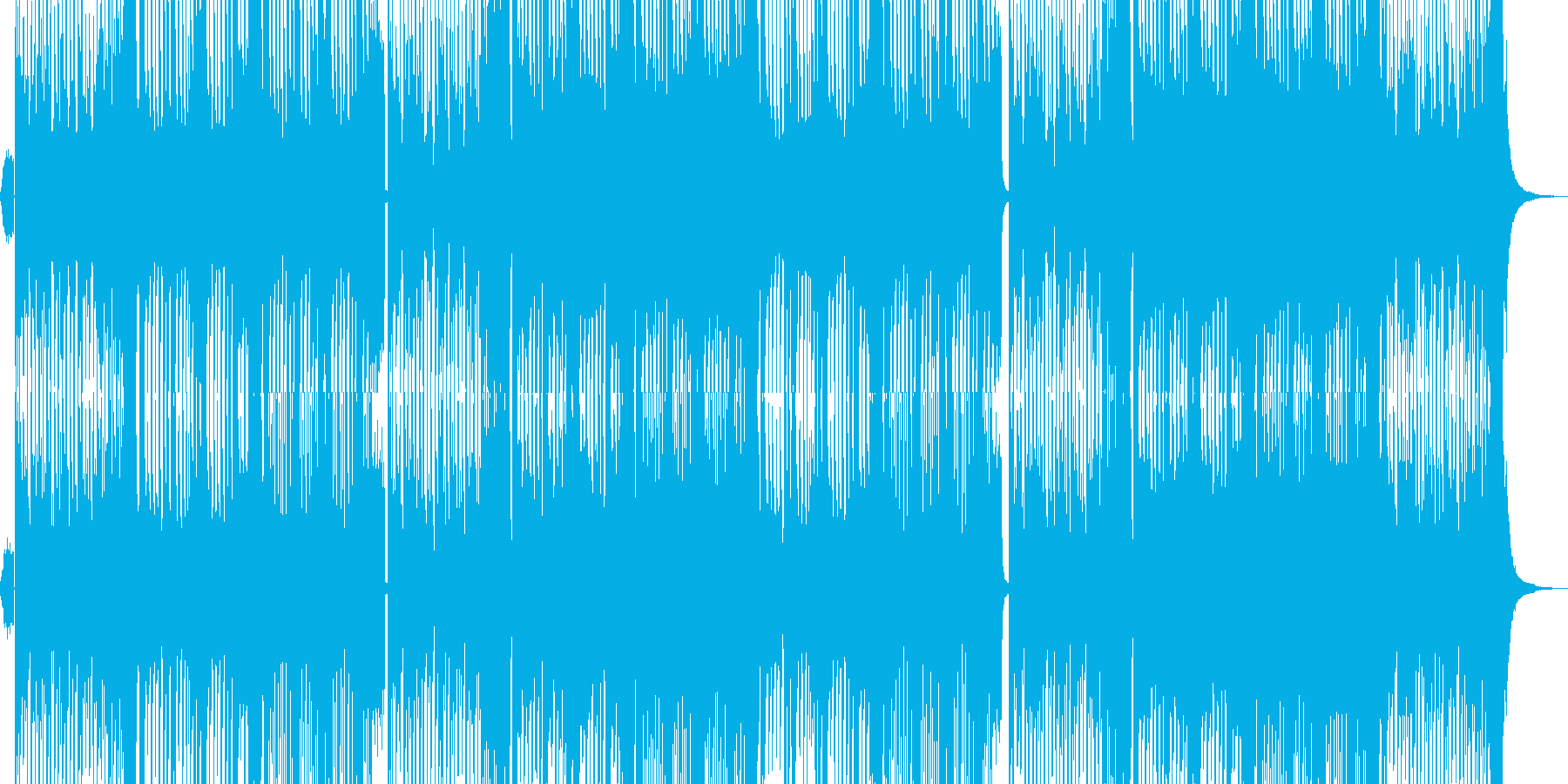 ダンス系EDM/イケメンoffvocalの再生済みの波形