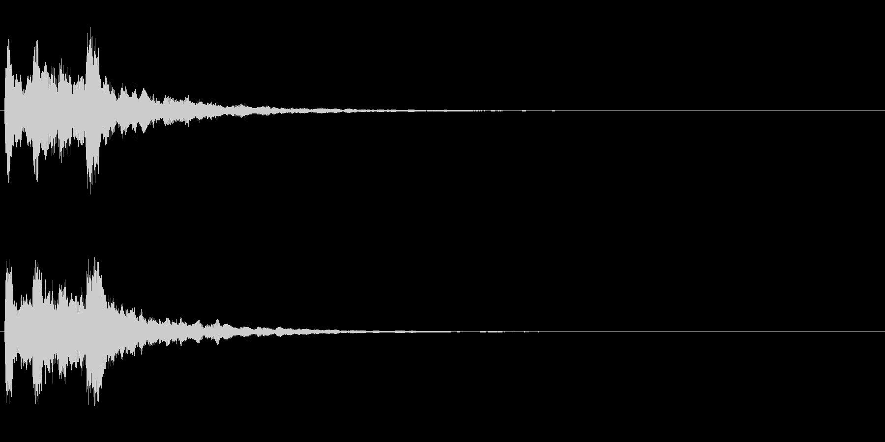 ピンポン2回(クイズ・正解・当たり)01の未再生の波形