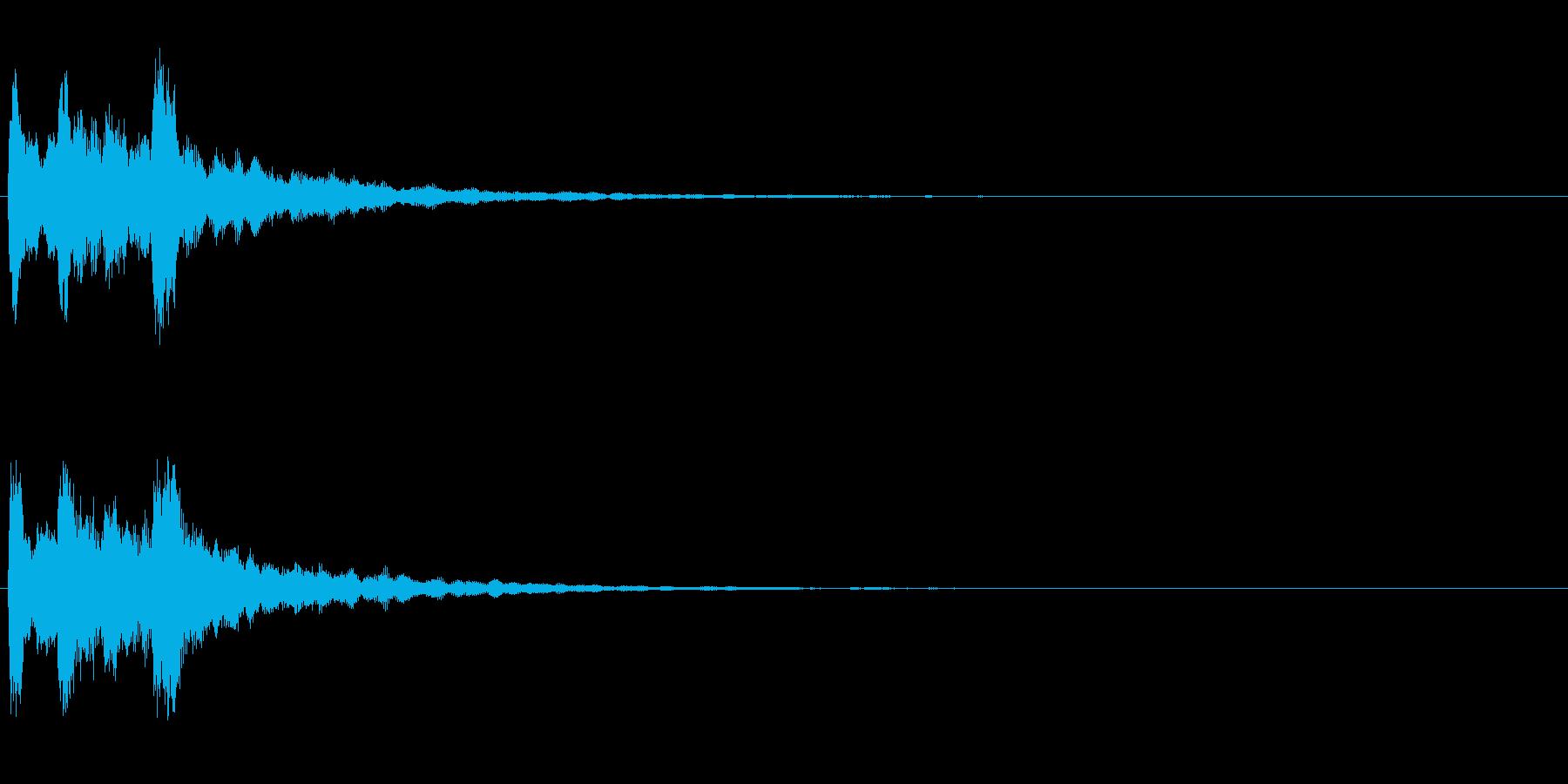 ピンポン2回(クイズ・正解・当たり)01の再生済みの波形