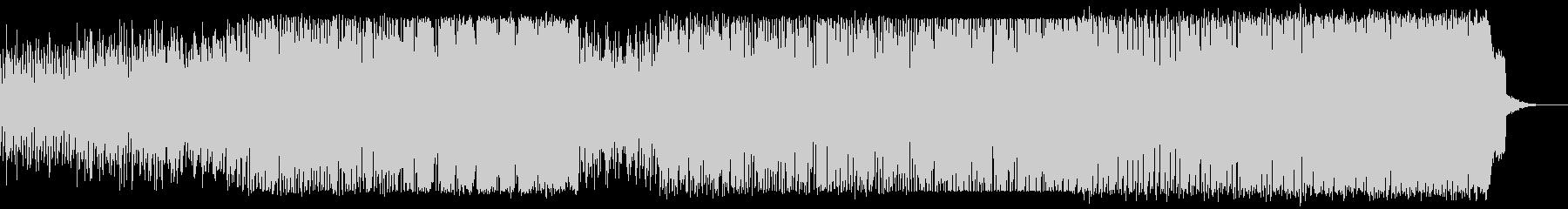 ミステリアスなループ的EDMの未再生の波形