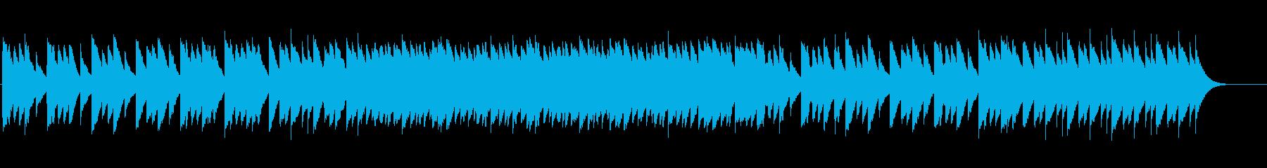 <オルゴール>涼しげで柔らかくキラキラとの再生済みの波形