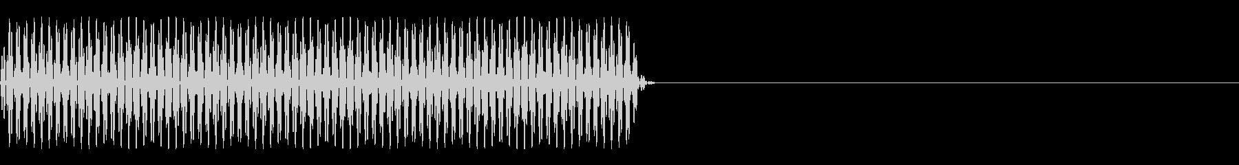 FX・SE/電話/ボタン音/海外風/#2の未再生の波形