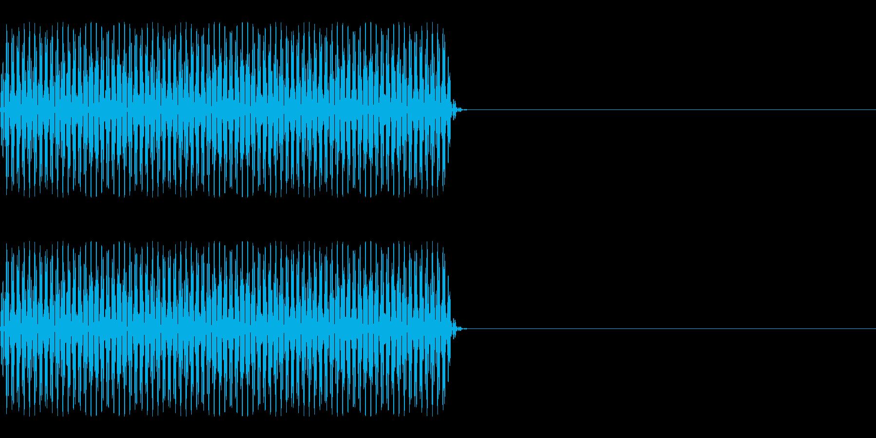 FX・SE/電話/ボタン音/海外風/#2の再生済みの波形