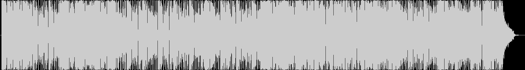 フルートのソロがメインの優しいBGMの未再生の波形