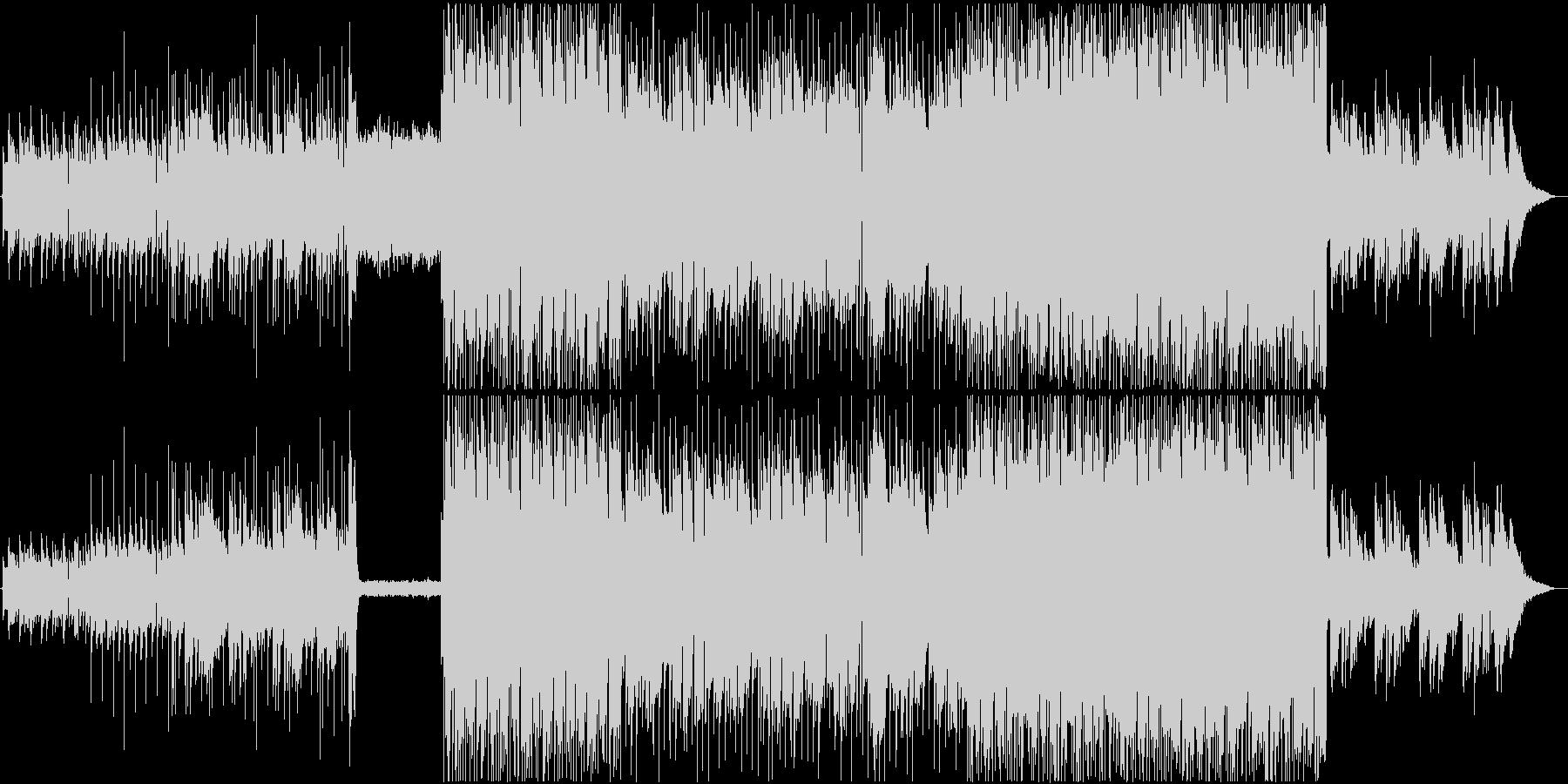 悲しいアルペジオが印象的なギターインストの未再生の波形