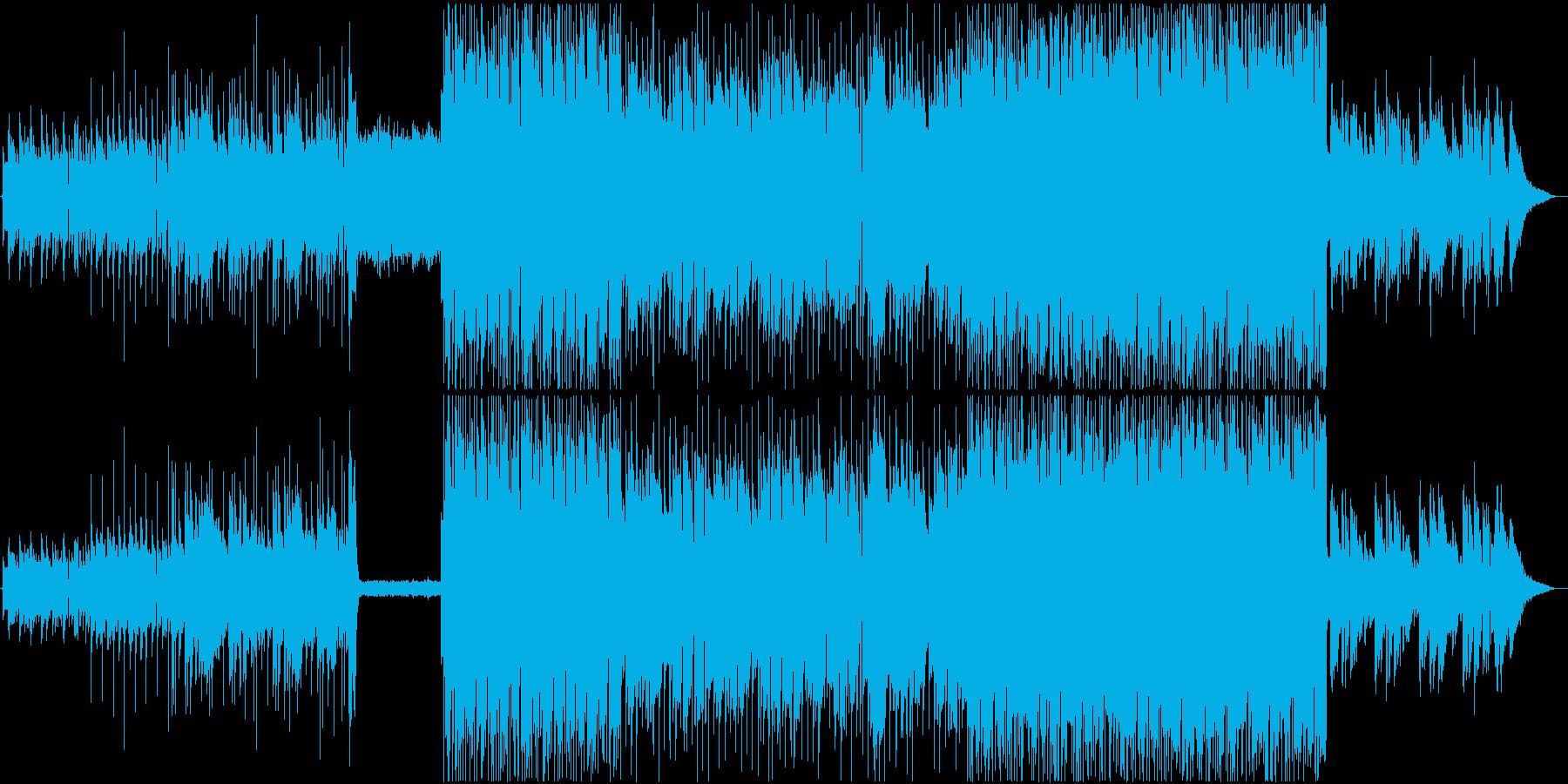 悲しいアルペジオが印象的なギターインストの再生済みの波形