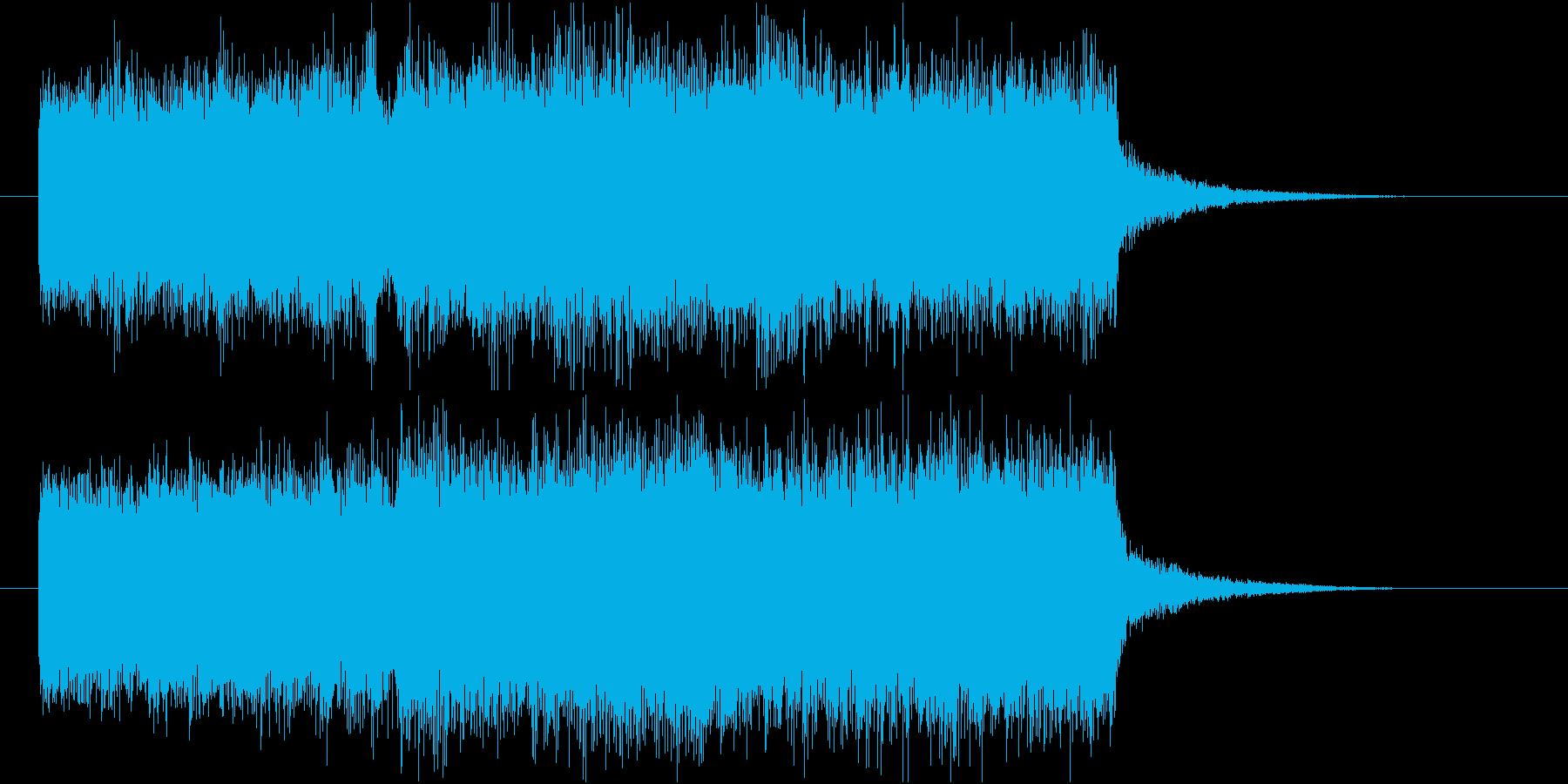 【ジングル】教会の場面などでの再生済みの波形