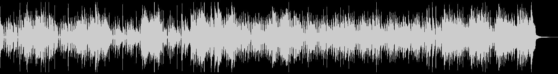 サックスとオルガンのニュー・ジャズの未再生の波形