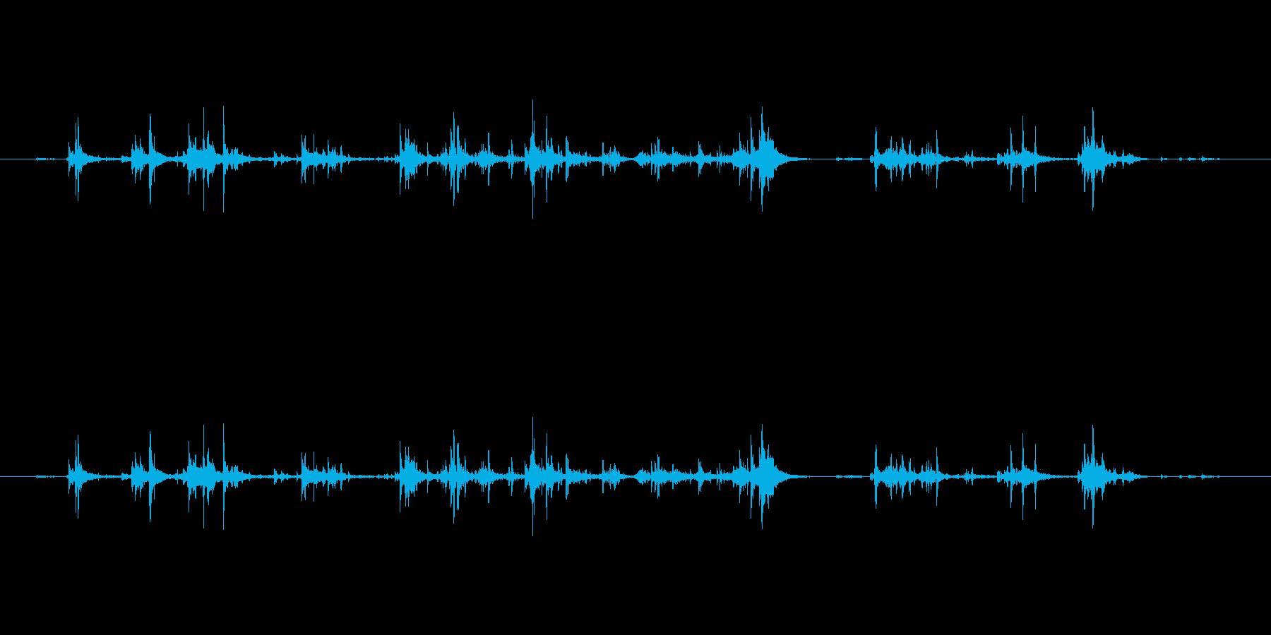 【筆箱03-6(ガサガサ)】の再生済みの波形
