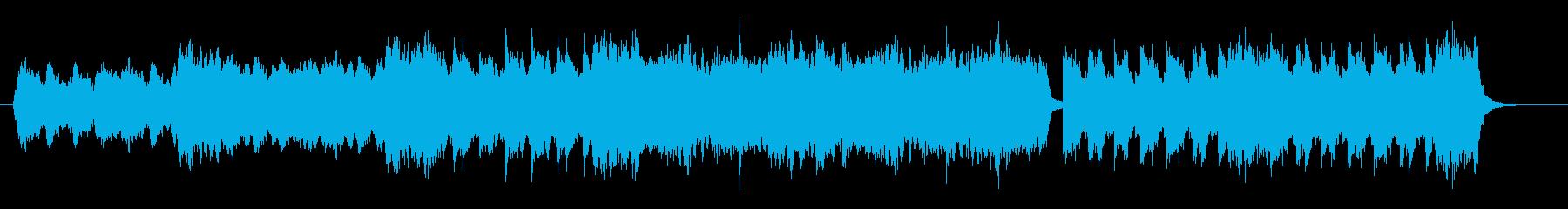 ストリングスによる幻想的な雰囲気の再生済みの波形