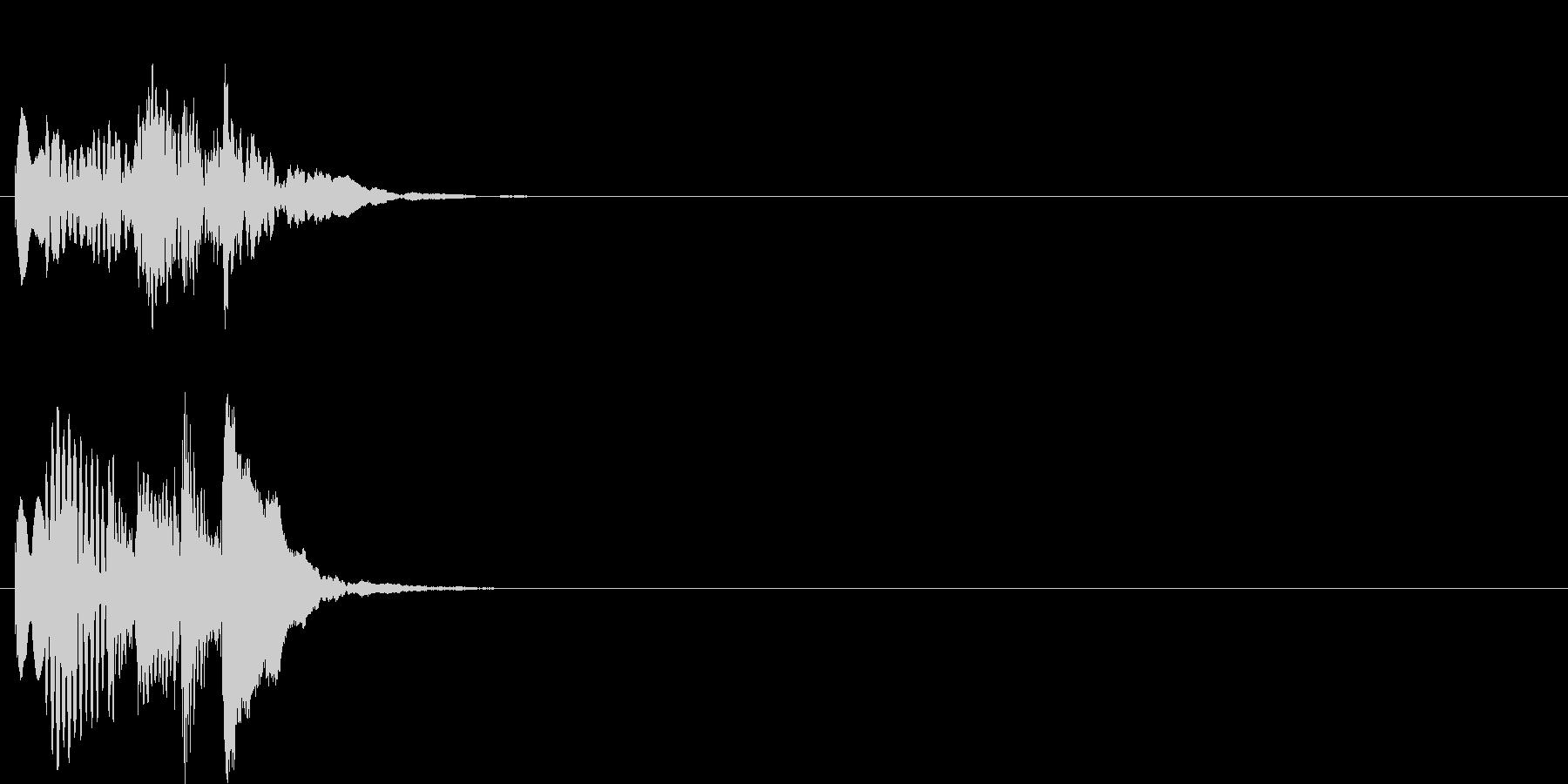グリッサンド03 マリンバ(上昇)の未再生の波形