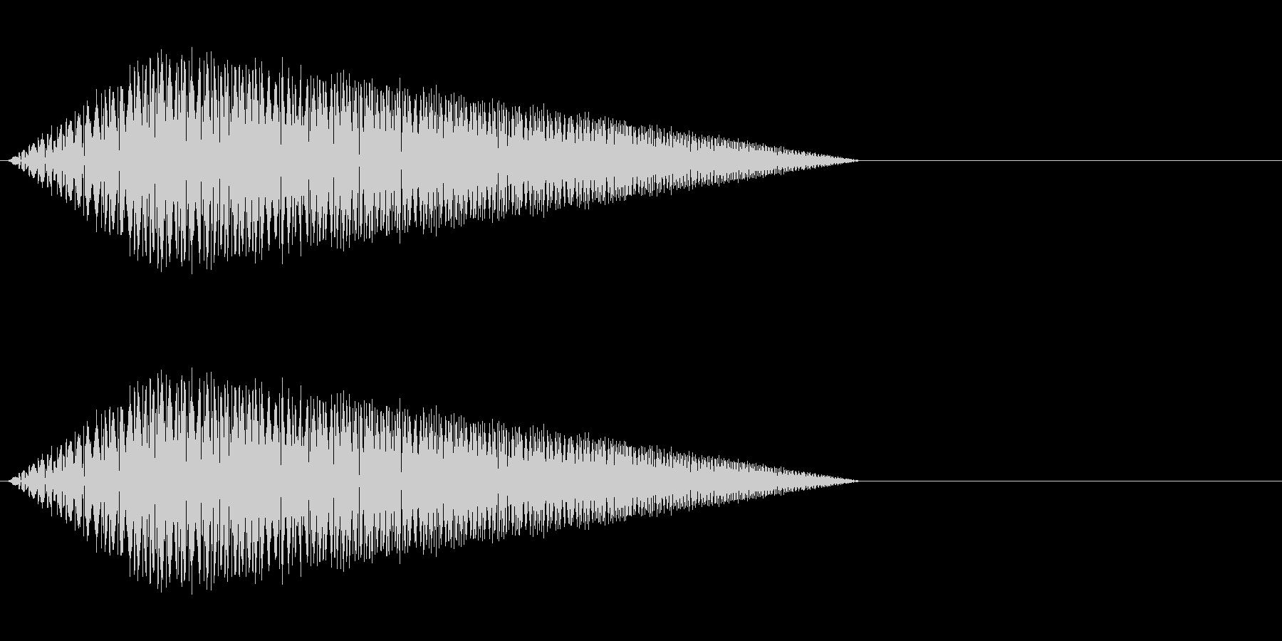 レトロゲーム風・魔法詠唱#4の未再生の波形