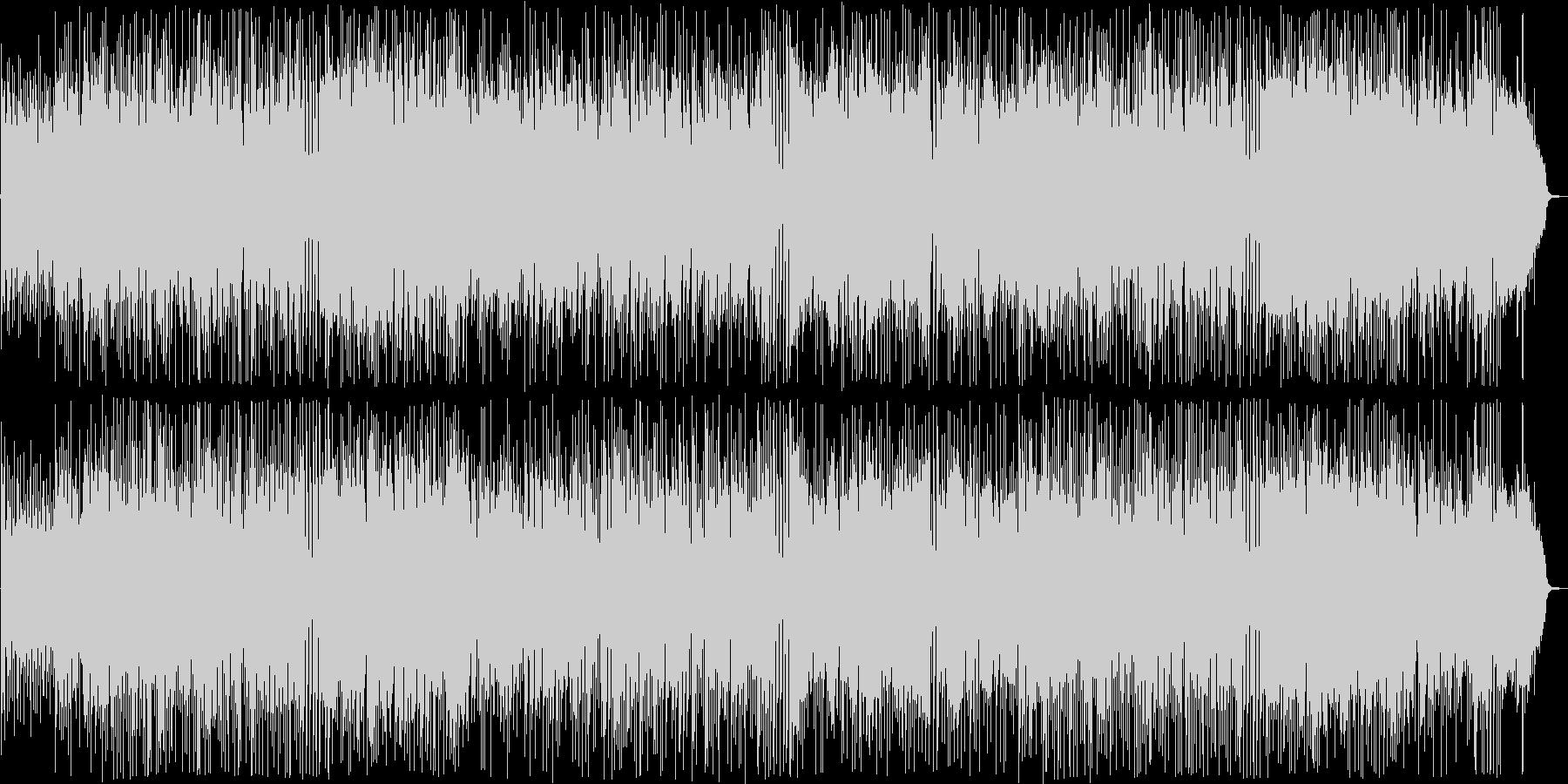 陽気なシンセ・ギターサウンドの未再生の波形