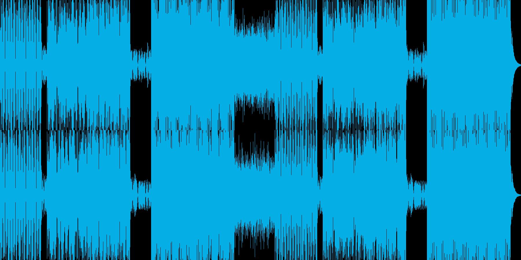 stargamewalk会心のファンク…の再生済みの波形