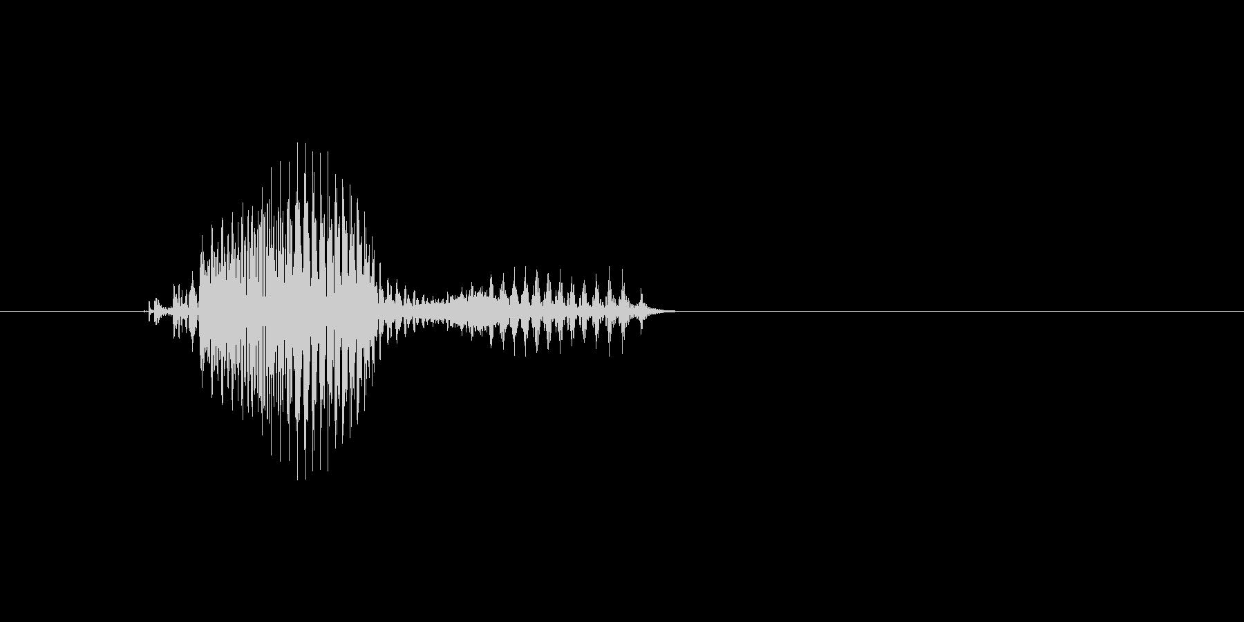5時の未再生の波形