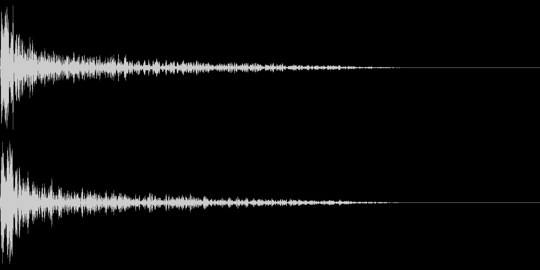トーナルボタン2・始まりのロゴ・ビーンの未再生の波形