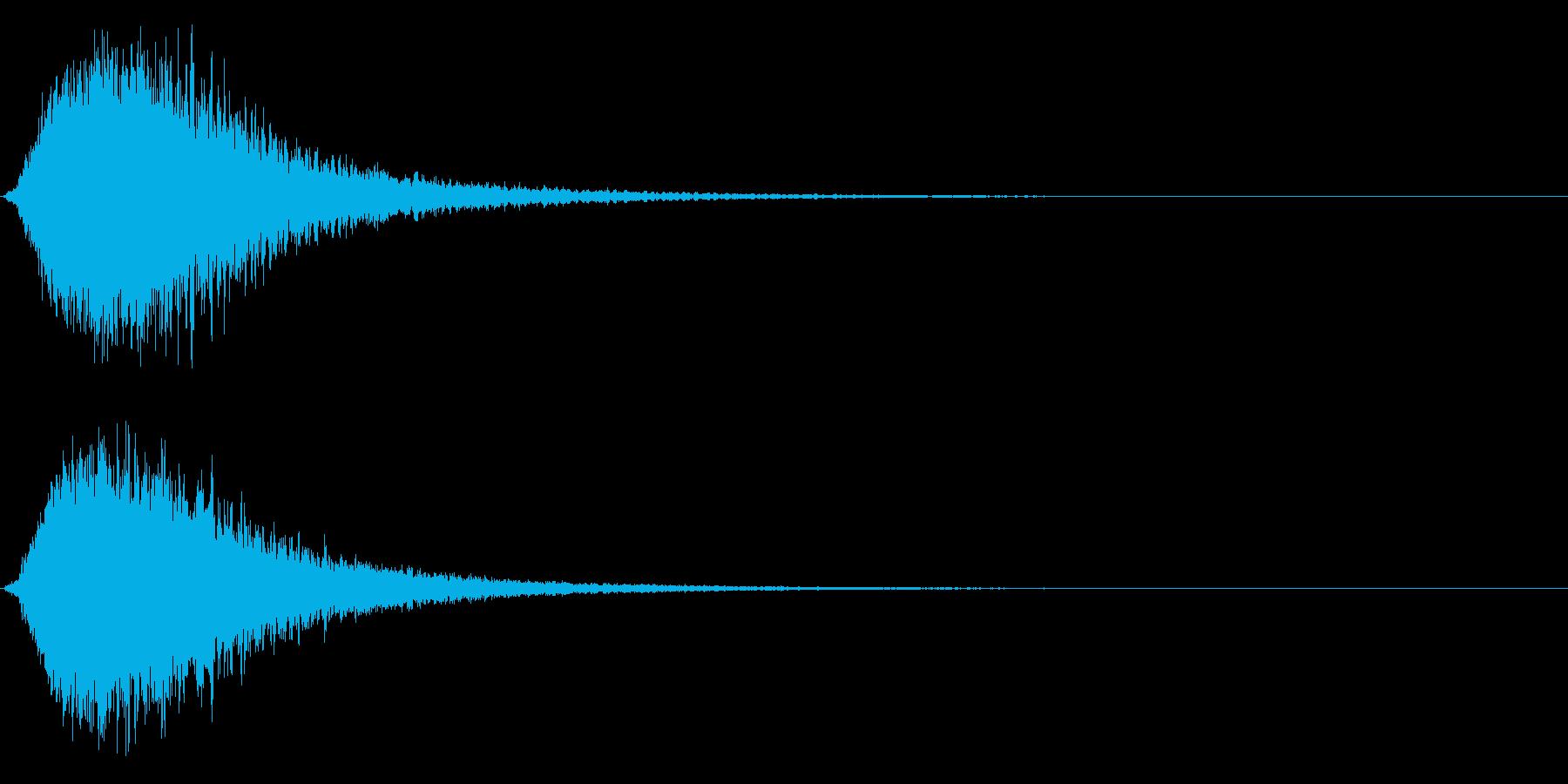 キラン☆キラーン/派手なインパクト3CVの再生済みの波形