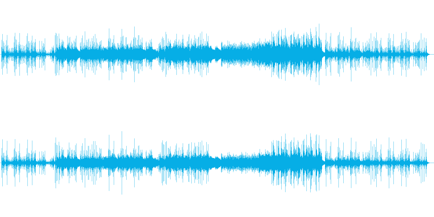 ヒア&ゼア/追悼の調べのオルゴールの再生済みの波形