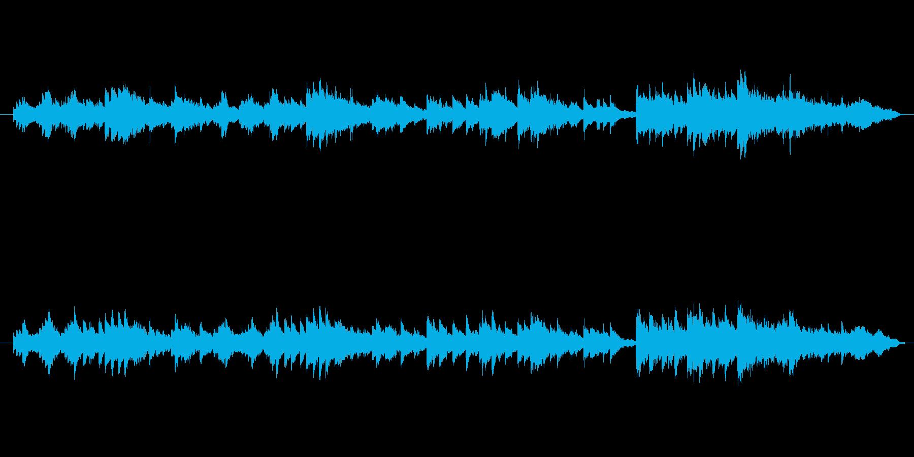 とあるゲームコンペで採用されなかった曲…の再生済みの波形