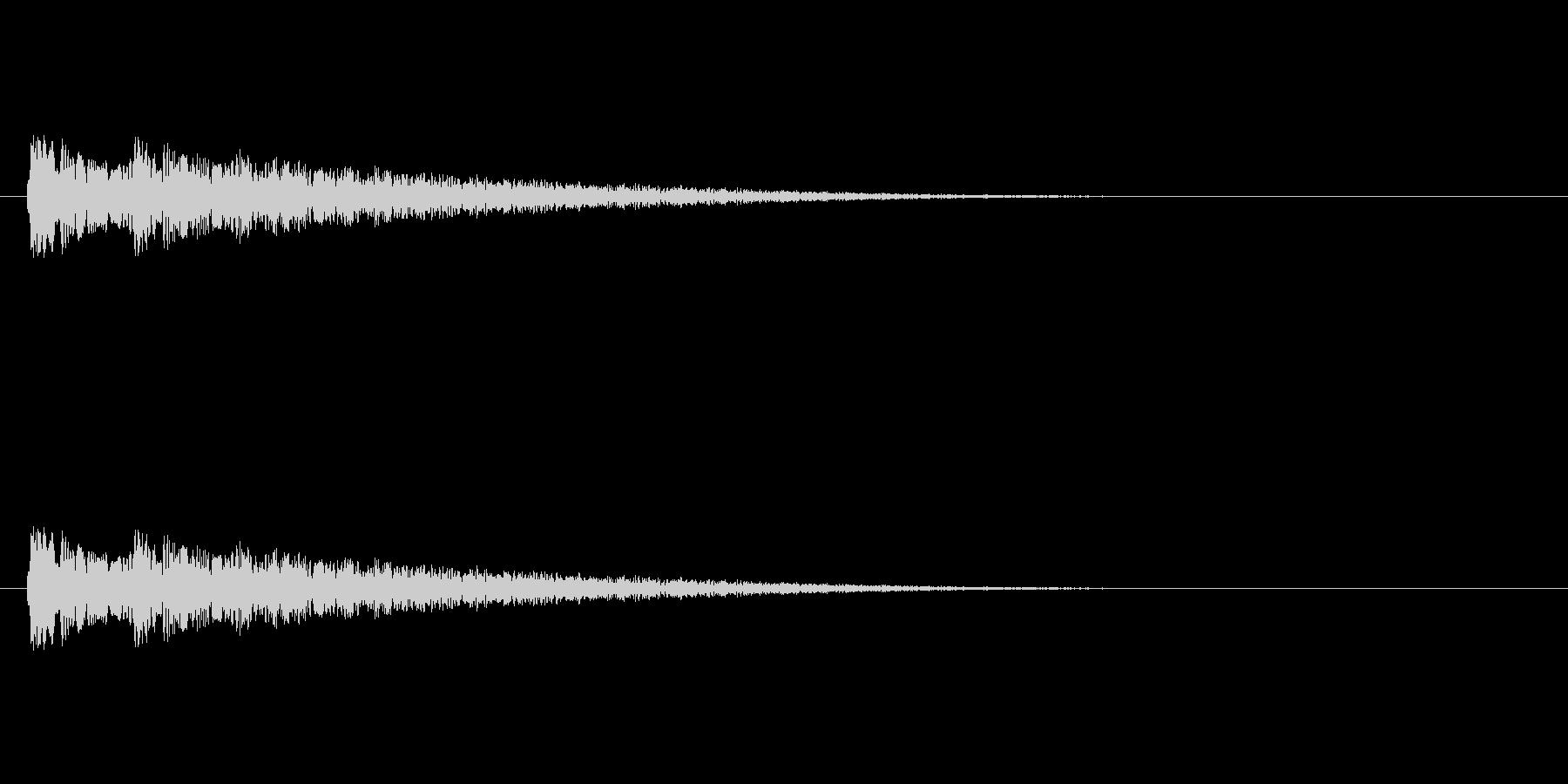 【ネガティブ07-7】の未再生の波形