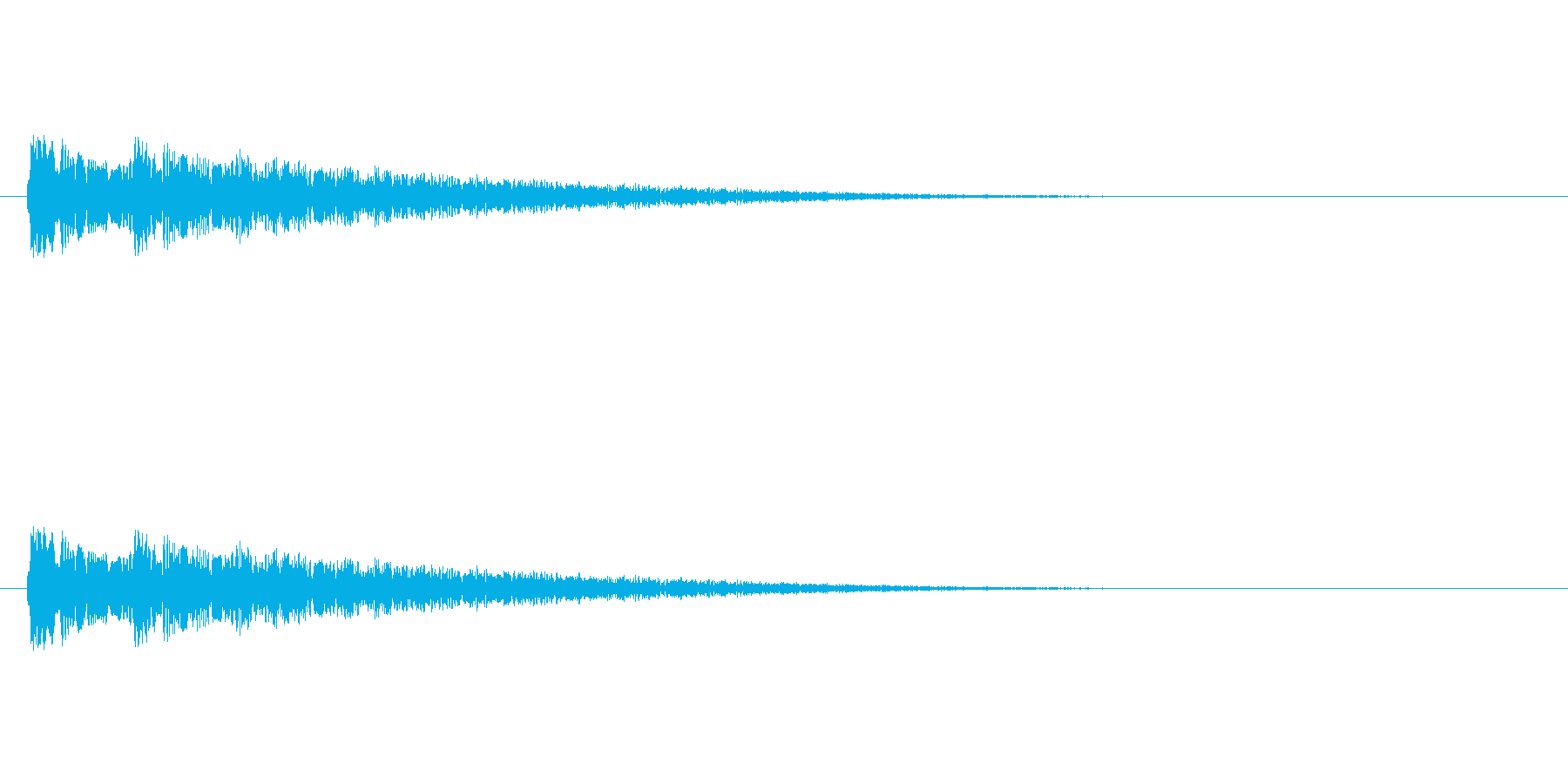 【ネガティブ07-7】の再生済みの波形