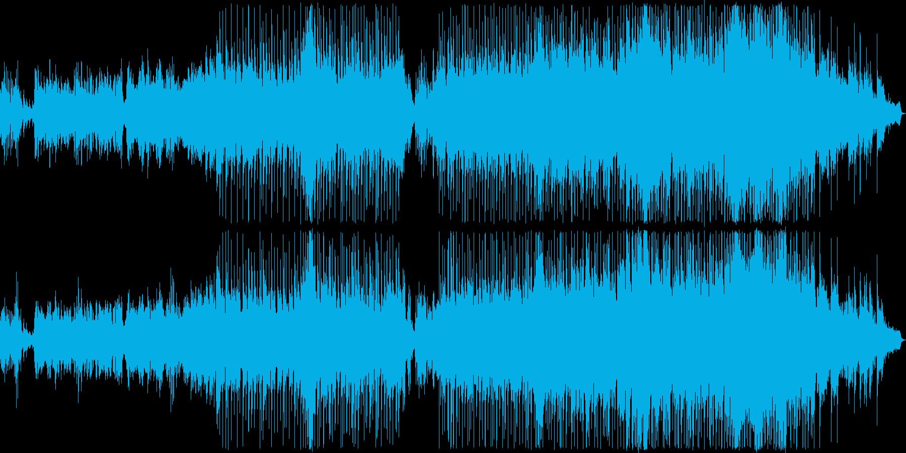 物悲しい雰囲気のバラード12の再生済みの波形