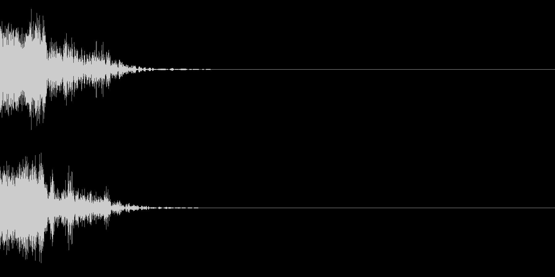 ボシュンの未再生の波形