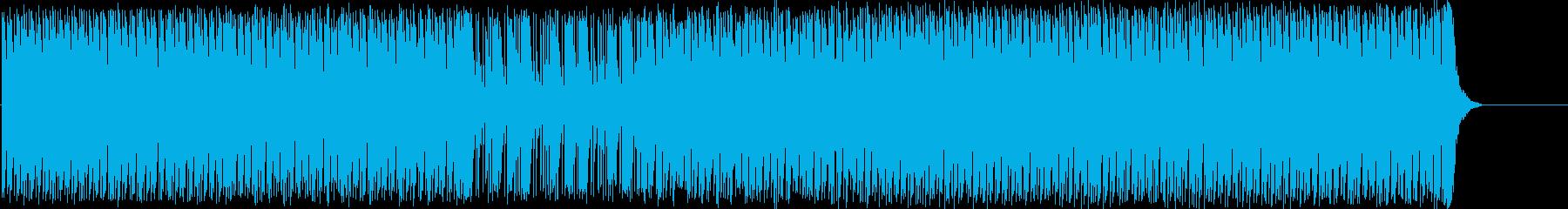 淡々と、かつ力強く歩みを進めるロックの再生済みの波形