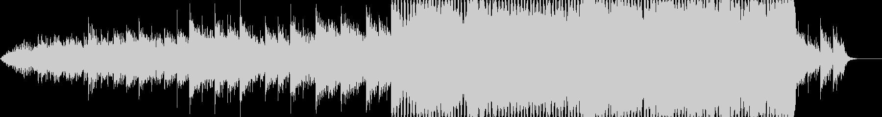 後半に一気に盛り上がるCMなどに最適な曲の未再生の波形