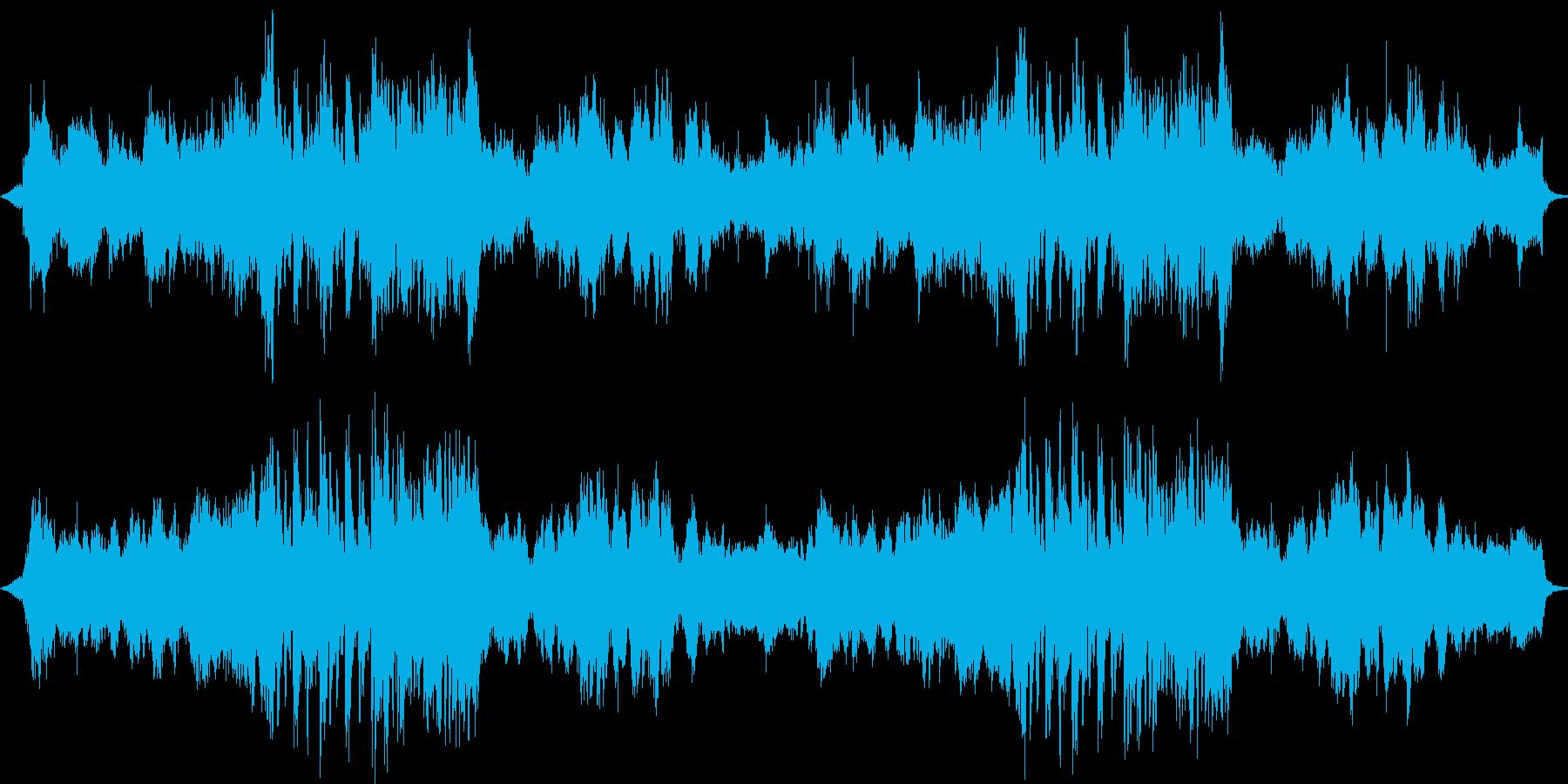 何かはじまりそうな曲ですの再生済みの波形