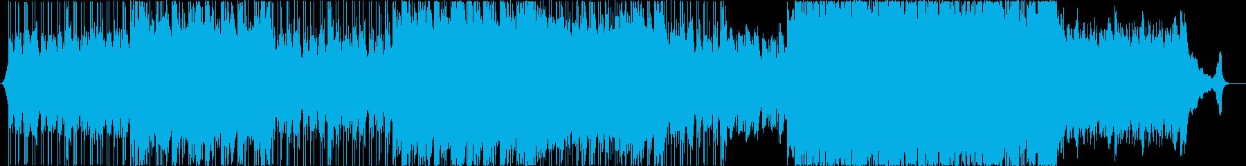 【コーラス抜き】綺麗なアコースティックヒの再生済みの波形