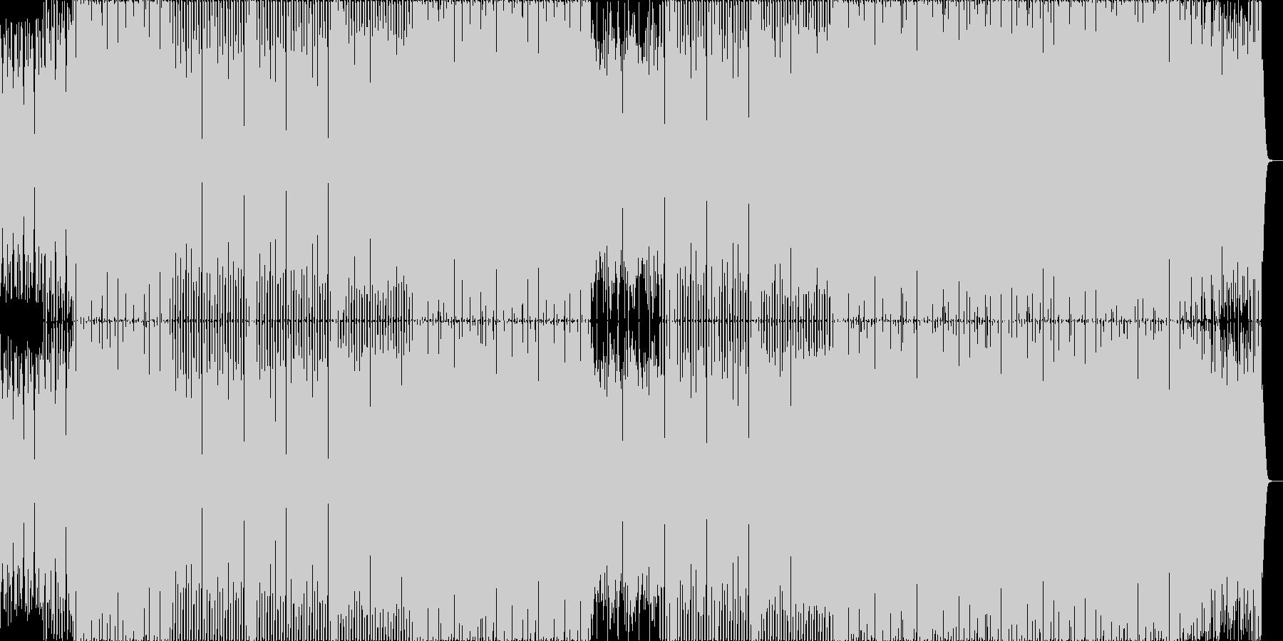 ピアノとストリングスの定番なハウス。の未再生の波形