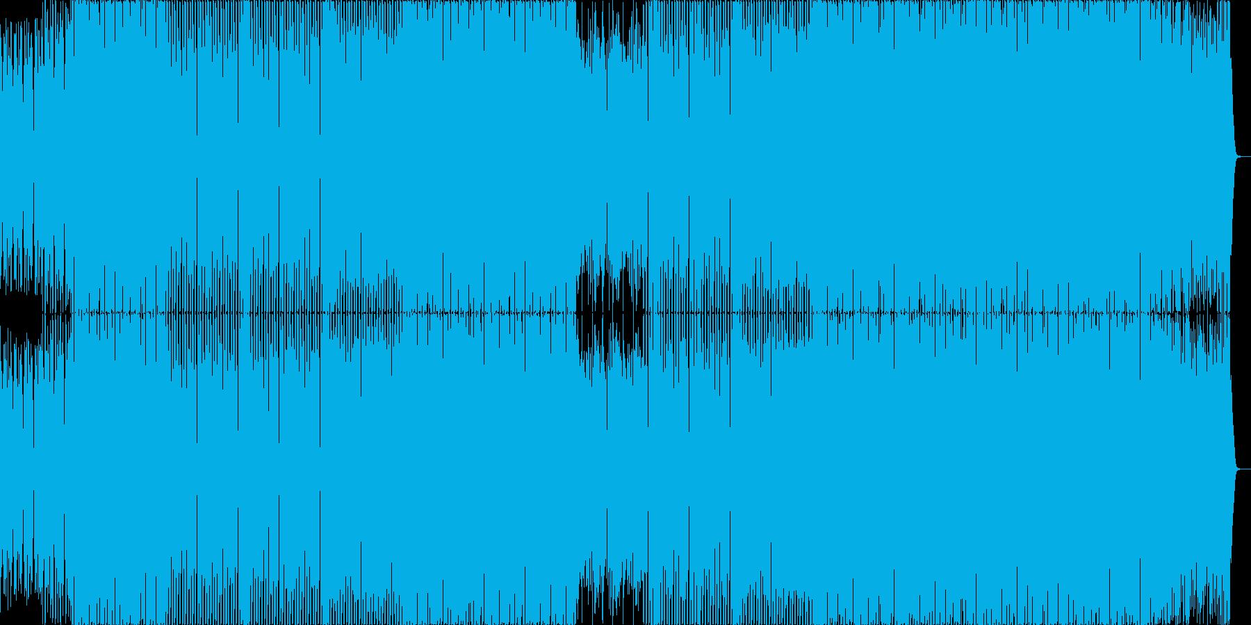 ピアノとストリングスの定番なハウス。の再生済みの波形