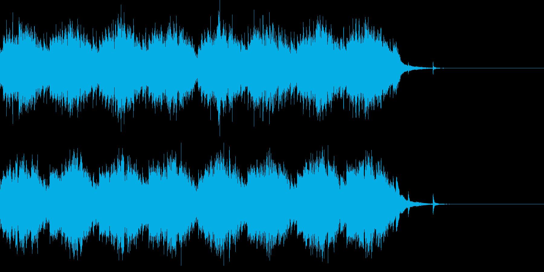 ファンタジー系オープニング等の再生済みの波形